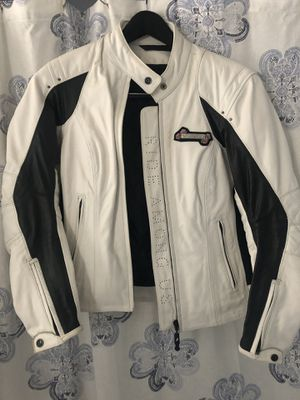 Motorcycle jacket women's medium with armor for Sale in Los Angeles, CA