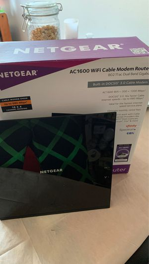 WiFi cable modem Router for Sale in Boston, MA