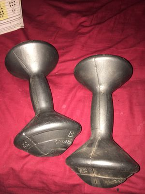 Pair of workout weights. 3.3 lbs for Sale in Harahan, LA