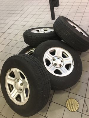 5 Jeep Wrangler wheels and tires for Sale in Bethesda, MD