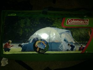 COLMAN 7 PERSON TENT WITH PET DEN for Sale in Ithaca, NY