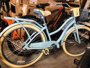 """Huffy 26"""" Womens Nel Lusso Cruiser Bike with Perfect Fit Frame, Blue for Sale in College Park, GA"""