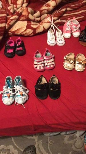 Baby girl shoes for Sale in San Antonio, TX