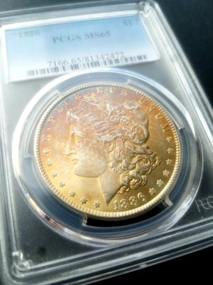 Monster toned Morgan silver dollar for Sale in Anaheim, CA