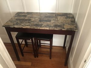 Beautiful Bar Height Table and Stools! for Sale in San Francisco, CA