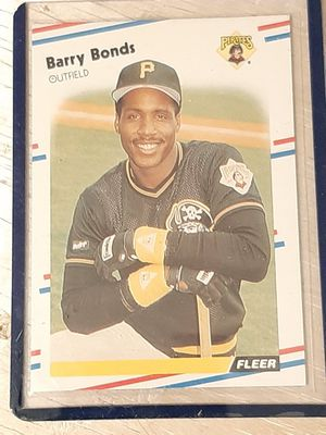 Barry bonds Rookie card for Sale in Monterey, CA