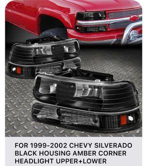 Silverado pk 99-02 new headlights for Sale in Hayward, CA