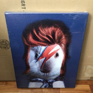 """🍎HOLIDAY SPECIAL🍎 Brand New Canvas Art """"Bowie"""" (Dimensions: 16""""x20"""") for Sale in North Las Vegas, NV"""