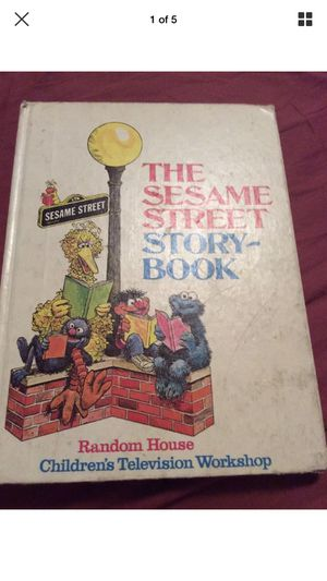 Vintage 1971 SESAME STREET STORYBOOK Jim Henson's Muppets Random House HC for Sale in Portland, OR