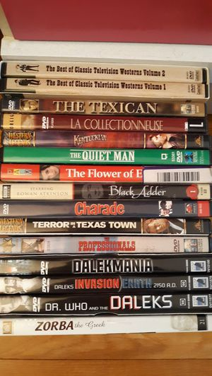 Some older movies on DVD for Sale in Tonawanda, NY