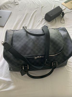 Louis Vuitton Black Roadster Damier Bag for Sale in Houston, TX
