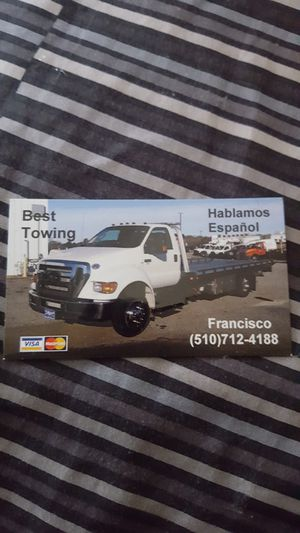 Tow Truck for Sale in San Leandro, CA