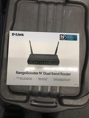 D-Link Rangebooster N Dual Band Router for Sale in Portland, OR