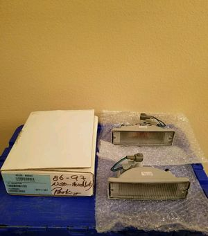 Pair Clear Signal Bumper Lights for 86-97 Nissan D21 Hardbody / 88-95 Pathfinder for Sale in Apopka, FL