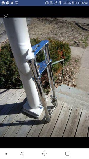 "Chrome inverted wideglide 6"" over stock for Sale in Saint Joseph, MO"