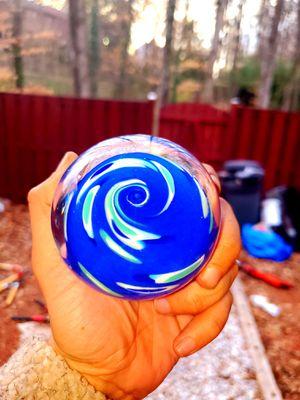 Hand Blown Glass Paperweight - for Sale in Woodbridge, VA
