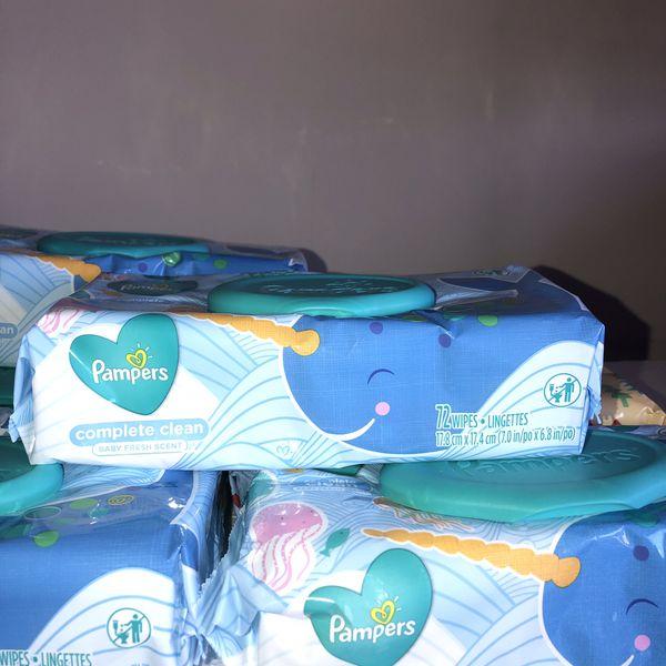 Pampers wipes bundle- 8Pk++ FREE BONUS