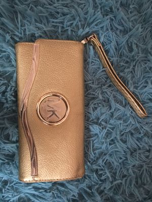 MICHAEL KORS gold wallet for Sale in Mount Rainier, MD
