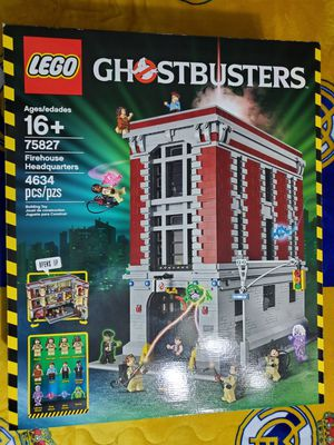 Lego Ghostbusters Firehouse Headquarters #75827 for Sale in Houston, TX