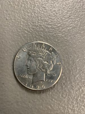 Silver Peace Dollar 1926 for Sale in Woburn, MA