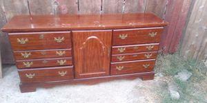 Very beautiful heavy wood dresser for Sale in Fresno, CA