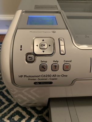 HP Photosmart C6250 Inkjet Printer for Sale in Johnson City, TN