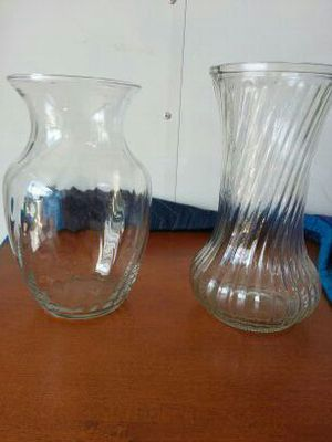 Glass flower vases for Sale in West Palm Beach, FL