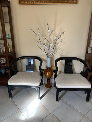 Asian antique horseshoe chairs Century company for Sale in Lake Worth, FL
