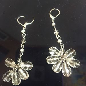 Cristal earrings silver for Sale in Hialeah, FL