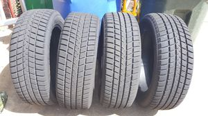 4 Used Goodyear Tires 235/55R18 100T for Sale in Dothan, AL