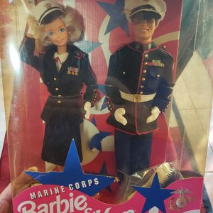 Stars N Stripes Marine Corps Barbie & Ken Deluxe set 1991 for Sale in Surprise, AZ