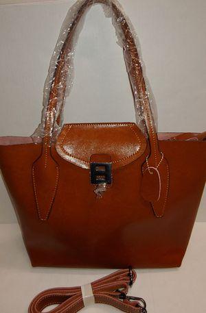 Genuine Leather new LaLo & Company brown tote purse for Sale in Costa Mesa, CA