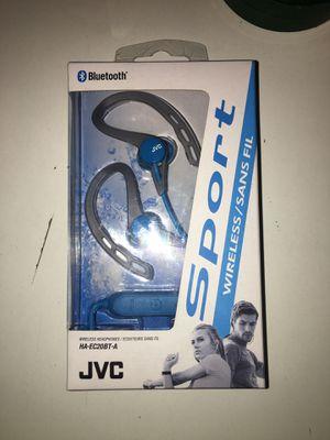 JVC sport wireless headphones for Sale in Pawleys Island, SC