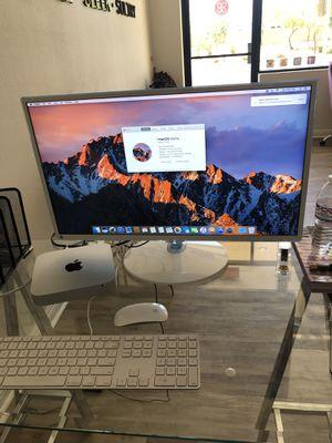 Apple Mac Mini W/ Keyboard, Mouse, And Samsung HD Monitor for Sale in Phoenix, AZ