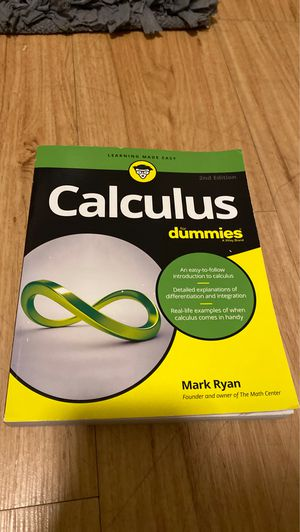 Calculus for Dummies for Sale in Denton, TX