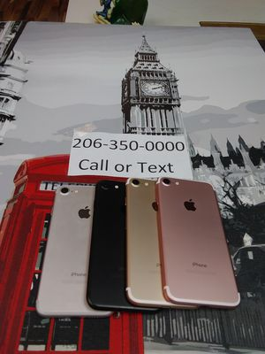 IPhone 7 Unlocked for Sale in Seattle, WA