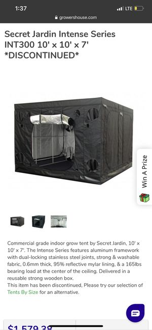Grow tent!! 10x10 for Sale in Fresno, CA