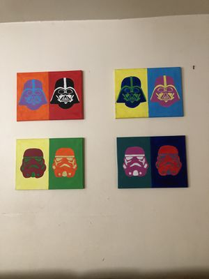 Star Wars Acrylic Paintings for Sale in Pittsburgh, PA
