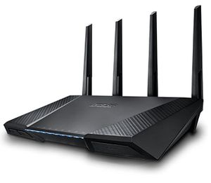 High End ASUS AC2400 router. Like new! for Sale in Canyon Country, CA