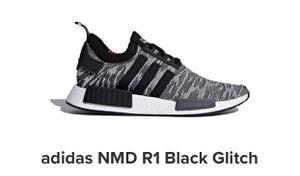 Adidas NMD R1 Black Glitch Primeknit Men Size 14 for Sale in Shoreline, WA