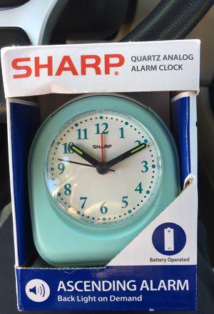 Brand new Quartz Analog Alarm clock for Sale in Virginia Beach, VA