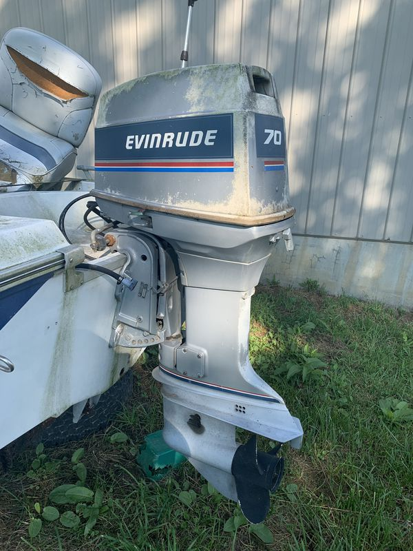 EVENRUDE 75 Hp 2 stroke