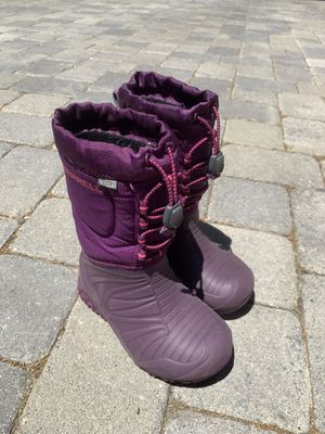 Merrell Kids Snow Boots - Size 11 for Sale in Wrightwood, CA