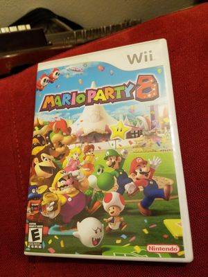Mario party 8 Nintendo Wii game $20 for Sale in Phoenix, AZ