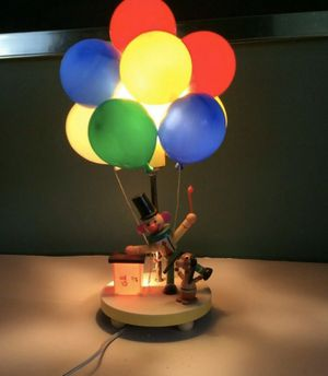 1970 vintage dolly toy clown lamp for Sale in Buffalo, NY
