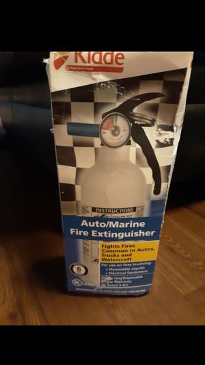 New Auto/Marine. Fire Extinguisher for Sale in Los Angeles, CA