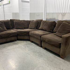 Brown Sectional Couch for Sale in Happy Valley, OR