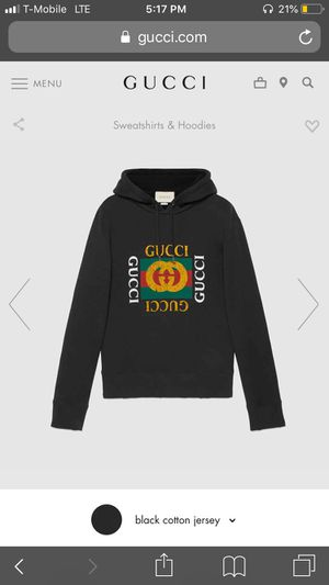 Gucci vintage logo hoodie for Sale in Staten Island, NY