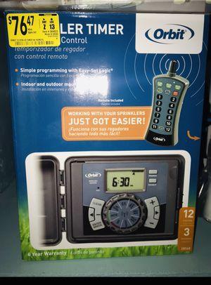Sprinkler control timer unit w/ remote for Sale in Miami, FL