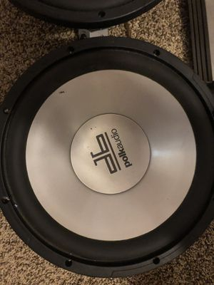 2 Polk audio subs for Sale in Lutz, FL